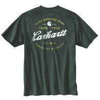 Carhartt Men's Relaxed Fit Heavyweight Pocket Tried and True Graphic Short-Sleeve T-Shirt