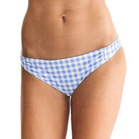 Southern Tide Women's Gingham Bikini Bottom