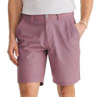 """Southern Tide Men's Heather Stripe T3 9"""" Gulf Short"""