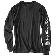 6bca7f98a Carhartt Men's Graphic Logo Long-Sleeve T-Shirt