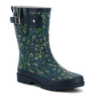 Western Chief Women's Paisley Flora Mid Rain Boot