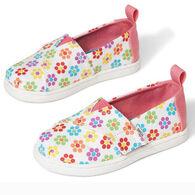 TOMS Girls' Tiny TOMS Lite Brite Alpargata Shoe