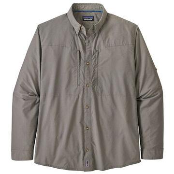 Patagonia Mens Sun Stretch Plaid Long-Sleeve Shirt