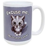 Earth Sun Moon Excuse Me Cat Mug