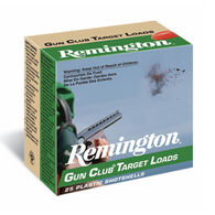"Remington Gun Club Target Loads 12 GA 2-3/4"" 1-1/8 oz. #8 Shotshell Ammo (25)"