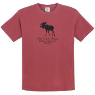 Original Design Men's Kittery Trading Post Black Moose Short-Sleeve T-Shirt