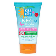 Kiss My Face Baby's First Kiss SPF 50 Mineral Sunscreen