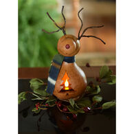 Meadowbrooke Gourds Dash Miniature Reindeer Gourd
