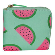 Buxton Women's Fruit Pik-Me-Ups Mini L-Zip Wallet