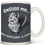 Earth Sun Moon Excuse Me Empty Feeder Mug