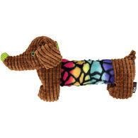 "Dogline 13.5"" Dachshund w/ Moving Ears Dog Toy"