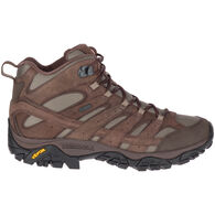 Merrell Men's Moab 2 Mother of All Boots Smooth Mid Waterproof Hiking Boot