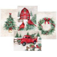LPG Greetings Country Christmas w/Keepsake Box Christmas Cards