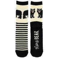 Lazy One Women's Mama Bear Crew Sock