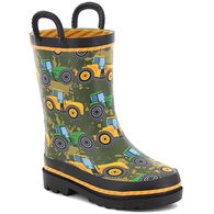 Western Chief Boys' Tractor Tough Rain Boot