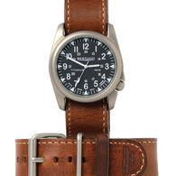 Bertucci A-4T Yankee Leather Band Field Watch