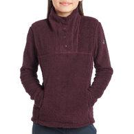 Kuhl Girl's Avalon Snap Long-Sleeve Fleece Top