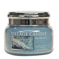 Village Candle Small Glass Jar Candle - Sea Salt Surf