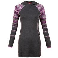 Krimson Klover Women's Peachleaf Hoodie Tunic Sweater