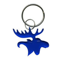 Bison Designs Moose Bottle Opener Keychain
