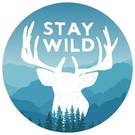 Sticker Cabana Stay Wild Sticker