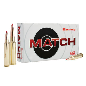Hornady 6.5 Creedmoor 120 Grain ELD Match Rifle Ammo (20)
