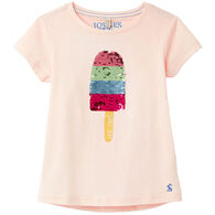 Joules Girl's Astra Short-Sleeve T-Shirt