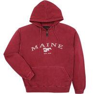 32822520e Austins Men's Maine Lobster Hooded Sweatshirt
