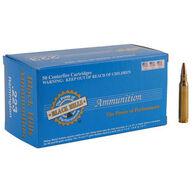 Black Hills Re-Manufactured 223 Remington 68 Grain Match BTHP Rifle Ammo (50)