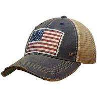 Vintage Life Women's American Flag Trucker Hat