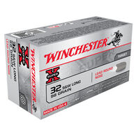 Winchester Super-X 32 S&W Long 98 Grain LRN Handgun Ammo (50)