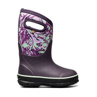 Bogs Girls' Classic Winter Marble Insulated Boot