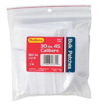 Outers Synthetic Bulk Bagged Cleaning Patch - 200-300 Pk.
