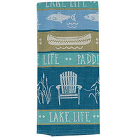 Kay Dee Designs Lake Retreat Jacquard Tea Towel