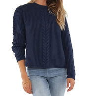 Carve Designs Women's Walsh Long-Sleeve Sweater