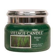 Village Candle Small Glass Jar Candle - Balsam Fir