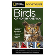 National Geographic Pocket Guide To The Birds Of North America by Laura Erickson & Jonathan Alderfer