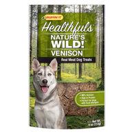 Ruffin' It Healthfuls Nature's Wild! Venison Dog Treat - 4 oz.