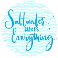 Sticker Cabana Salt Water Sticker