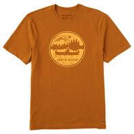 Life is Good Men's Canoe Coin Crusher Short-Sleeve T-Shirt
