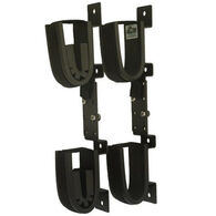 Rugged Gear Adjustable Screw Mount Double Hook Gun Holder Set