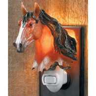 Wild Wings Bay Horse Night Light
