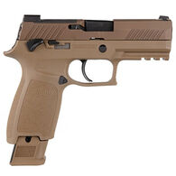 """SIG Sauer P320-M18 9mm 3.9"""" 17/21-Round Pistol w/ 3 Magazines"""