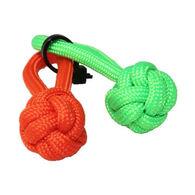 Bison Designs S3 Survival Monkey Fist Paracord Zipper Pull - 2 Pk.