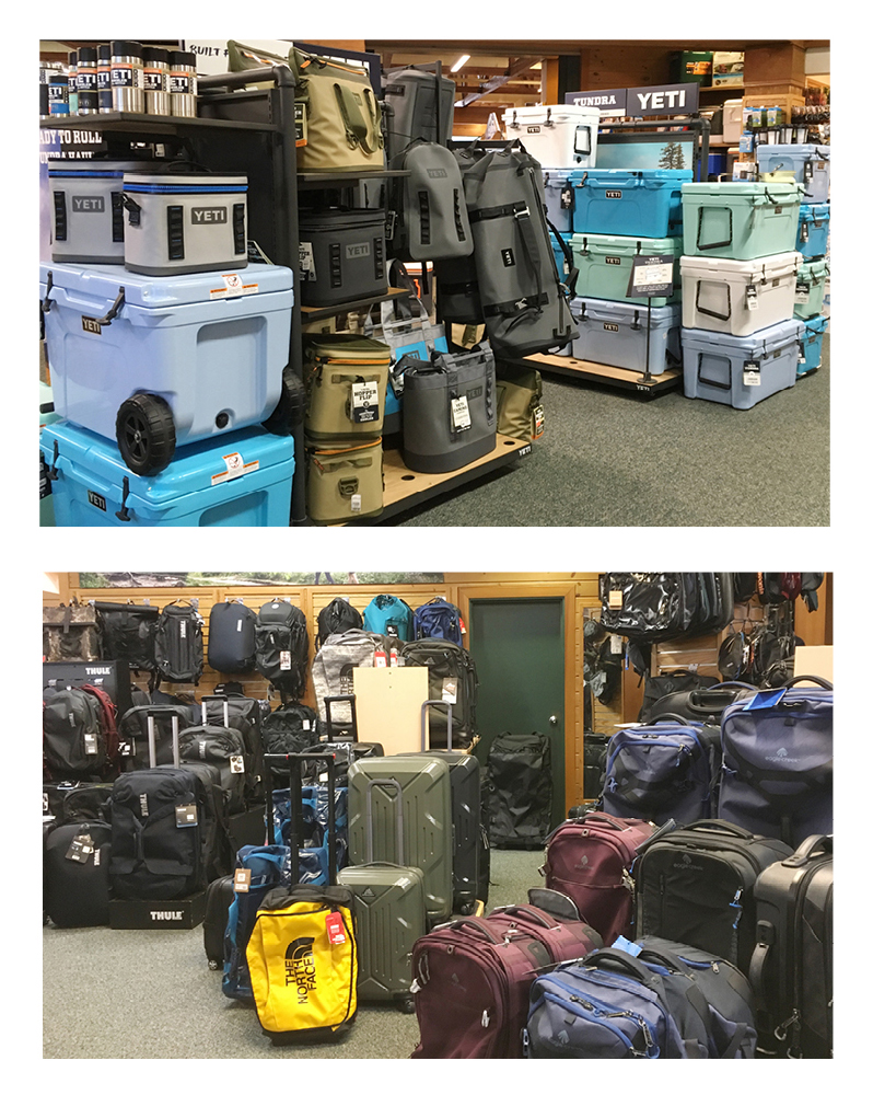 9536f0b04 experienced outdoor sports enthusiasts will gladly assist in finding the  proper gear for your favorite summertime activities. From kayaks, canoes,  SUPs to ...