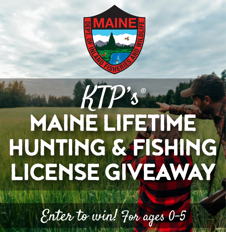 Maine Lifetime Hunting & Fishing License Giveaway!